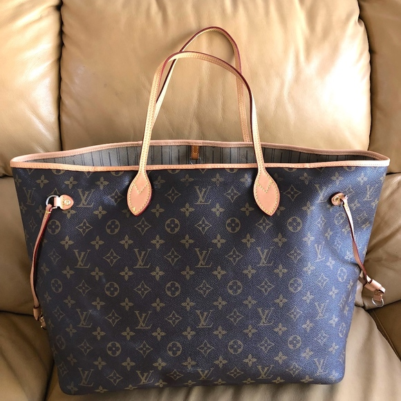 74475f49393 LOUIS VUITTON MONOGRAM NEVERFULL GM